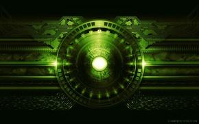 Картинка зеленый, схема, Derek Prospero