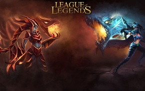 Картинка Dragon, League of Legends, Shyvana, Vane