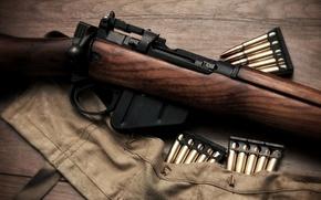 Картинка оружие, патроны, винтовка, затвор
