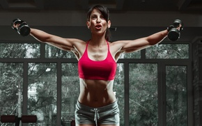 Картинка female, workout, fitness, gym