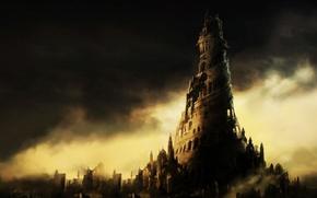 Картинка city, fantasy, castle