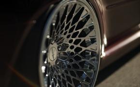 Картинка Audi, диски, хром, wagon, rs4, avant, 20`