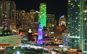 Картинка Miami, Майями, Флорида, city, город, Florida, USA, США