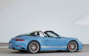 Картинка 911, Porsche, Design, Edition, Exclusive, Targa