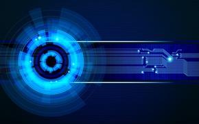 Картинка плата, Hi-Tech, Технологии, Network