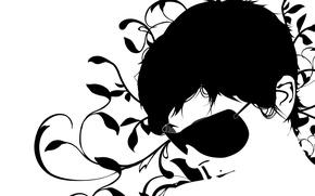 Картинка узор, минимализм, Вектор, очки