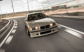 Картинка bmw, tuning, speed, germany, low, stance, e36