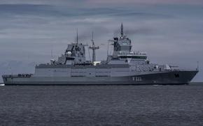 Картинка море, флот, фрегат, Baden