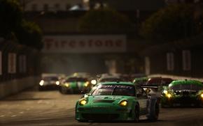 Картинка дорога, машины, гонки, LBGP