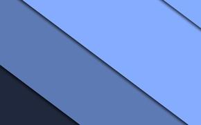 Картинка синий, полосы, design, color, material