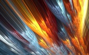 Картинка линии, цвет, размытость
