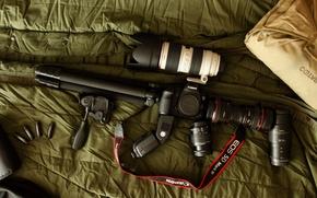 Картинка камера, фотоаппарат, Canon, конфигурация