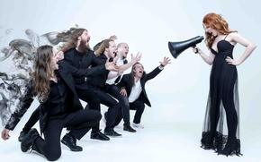 Картинка metal, gothic, sympho, Isaac Delahaye, Simone Simons, Coen Janssen, Ariën Van Weesenbeek, Mark Jansen, Epica, …