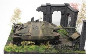 Картинка игрушка, установка, самоходная, артиллерийская, моделька, лёгкая, Hetzer, «Хетцер», Jagdpanzer 38