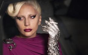 Картинка девушка, актриса, певица, fashion, знаменитость, smoke, woman, cigarette, singer, dragon, Lady Gaga, Hotel, Леди Гага, ...