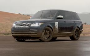 Картинка грязь, Дождь, Range Rover, Rain, Forza, Horizon 3, Turn10