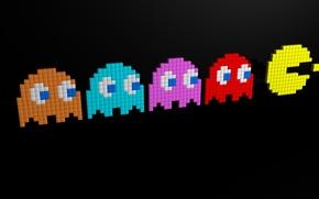 Обои PacMan, Классика, Пиксели