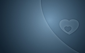 Картинка любовь, сердце, минимализм, love, minimalism, heart, 1920x1200