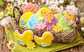 Картинка печенье, пасха, holidays, выпечка, easter, cookies, baking