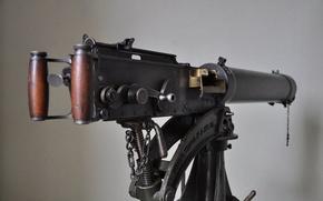 Картинка оружие, фон, ручки, пулемёт, станковый, Vickers, «Виккерс»