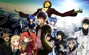 Картинка аниме, арт, Парень, Anime, Enju Aihara, black bullet, Midori Fuse, Kohina Hiruko, лолли, Эндзю Аихара, …
