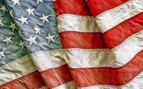 Картинка USA, flag, patriotism, worn fabric