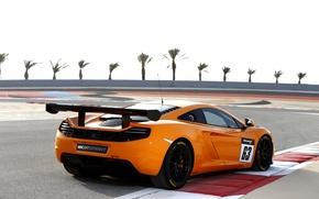 Картинка машина, авто, McLaren, суперкар, MP4-12C, задок, Sprint