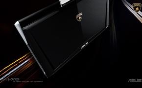 Картинка технологии, ноутбук, ASUS, automobili Lamborghini