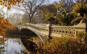 Обои пейзаж. природа. красота, мост, река