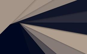 Картинка линии, синий, серый, геометрия, material