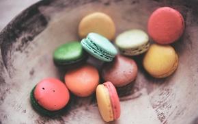 Картинка еда, десерт, macaroons, macarons