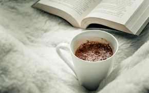 Картинка кружка, чашка, книга, страницы