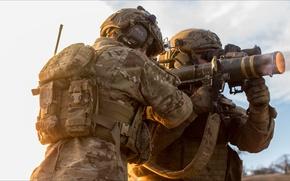 Картинка fire, weapon, Soldiers
