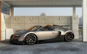 Обои bugatti, veyron, grand, sport, vitesse, суперкар