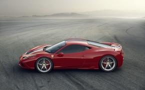 Картинка Италия, Ferrari, Red, 458, Italy, Speciale, 2014