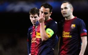 Картинка Спорт, Футбол, Барселона, Хави, Барса, Football, Barcelona, Sport, Messi, Xavi, Leo, Лео, Barca, Месси, Iniesta, …