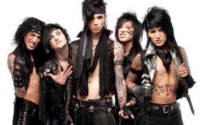 Картинка музыка, группа, Ashley, hard rock, heavy metal, glam metal, Black Veil Brides, Jake, BVB, Andy, …