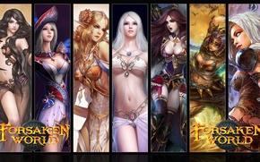 Картинка Девушки, MMORPG, Forsaken World