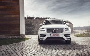 Картинка car, внедорожник, white, Ciprian Mihai, Volvo XC90