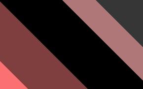 Картинка линии, розовый, черный, текстура, material