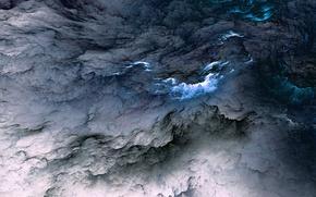 Картинка облака, фон, colors, abstract, background, clouds, unreal