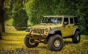 Картинка Wrangler, Jeep, Offroad