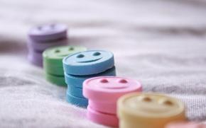 Картинка радость, улыбка, настроения, цветные, позитив, конфетки