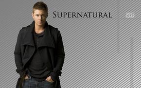 Обои supernatural, дженсен эклз, сверхъестественное, дин винчестер, сериалы