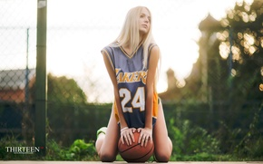 Картинка девушка, блондинка, фотограф, girl, photography, photographer, Thirteen