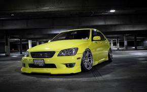 Картинка turbo, lexus, wheels, drift, japan, toyota, jdm, tuning, лексус, front, тойота, face, altezza, is200, stance, …