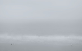 Картинка море, пляж, люди