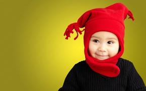 Обои детство, ребенок, Портрет, child, childhood, Portrait, funny stylish Baby Boy, смешной стильный мальчика