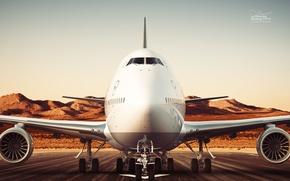 Картинка Lufthansa, Boeing 747-8, Ганзейские авиалинии