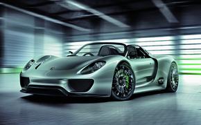 Обои 3544 x 2506, Spyder, Concept, 918, Porsche